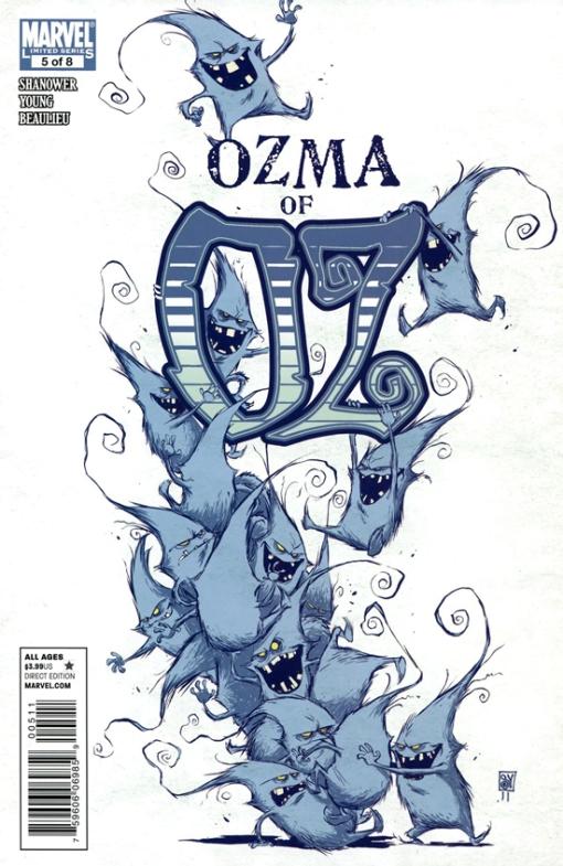 Ozma of Oz #5, by Skottie Young