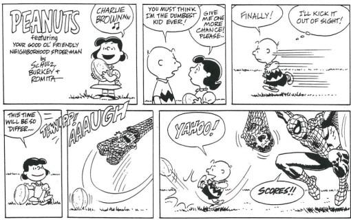 peanuts & spider-man 1