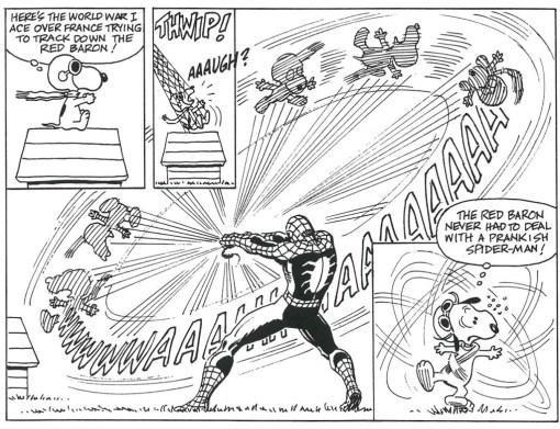 peanuts & spider-man 2