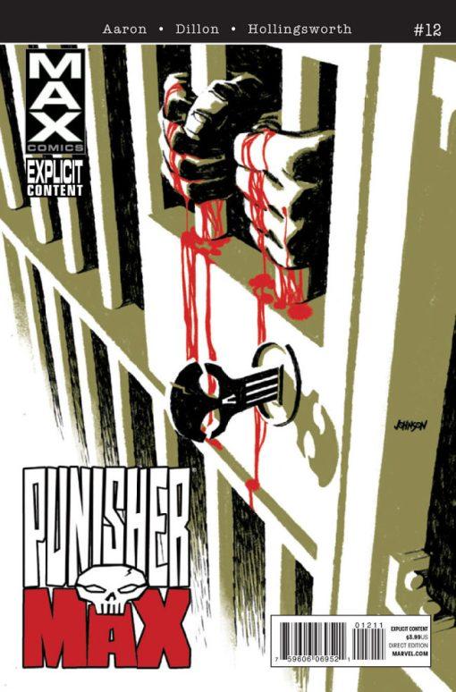 PunisherMAX #12, by Dave Johnson