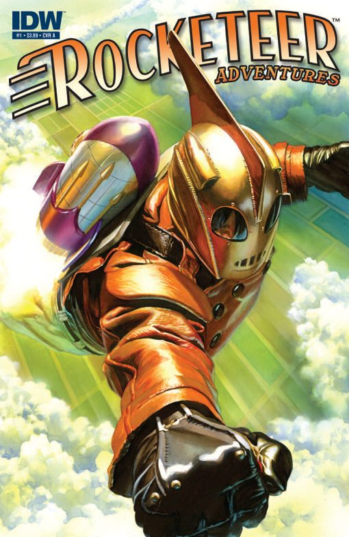 Rocketeer Adventures #1, by Alex Ross