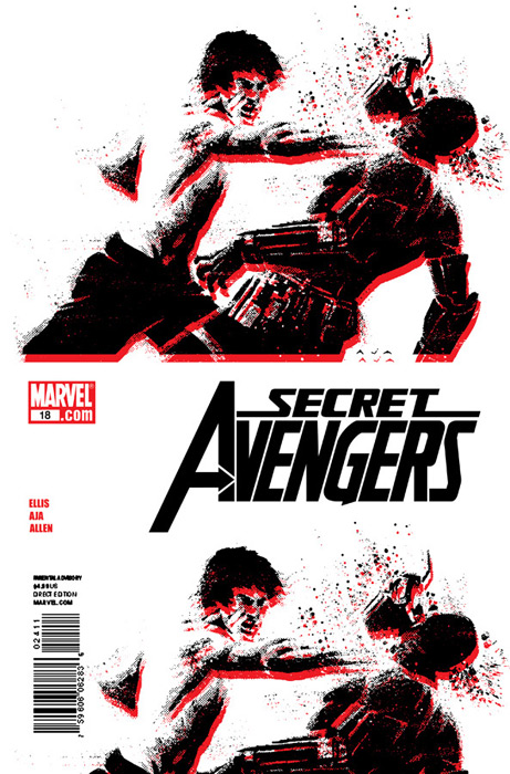 Secret Avengers #18, by David Aja