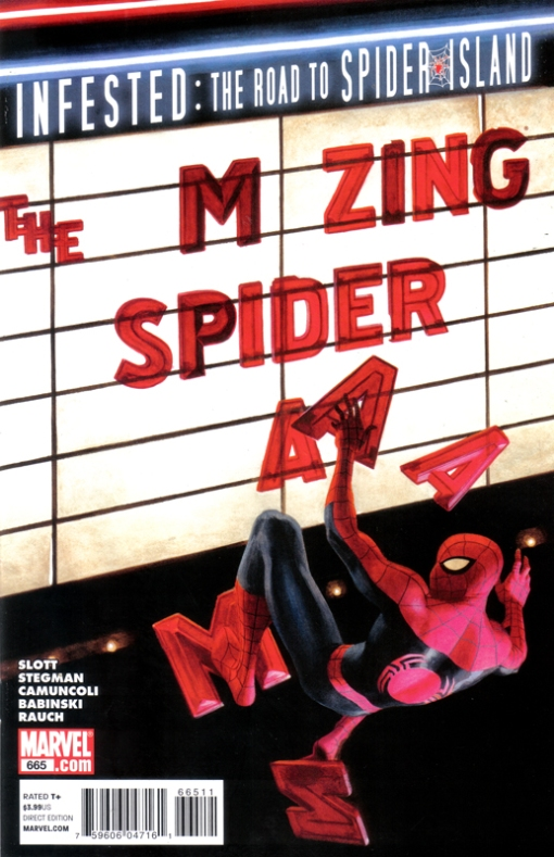 The Amazing Spider-Man #665, by Paolo Rivera