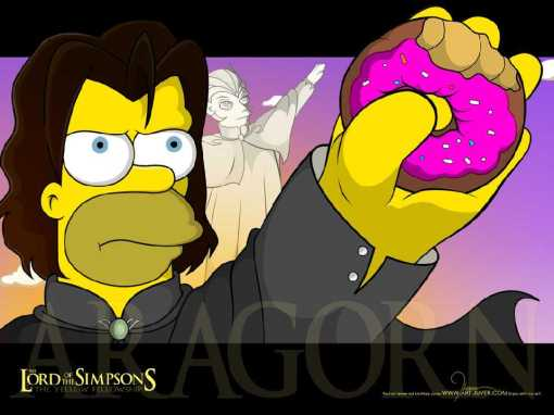 The Lord of the Simpsons 1