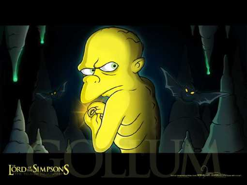 The Lord of the Simpsons 4