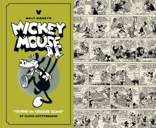 Walt Disney's Mickey Mouse, Vol. 2 - Trapped on Treasure Island, by Floyd Gottfredson and Jacob Covey