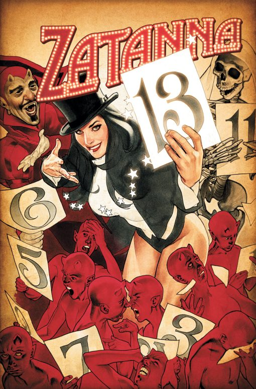 Zatanna #13, by Adam Hughes