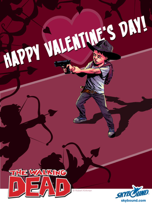 walking dead valentine's day 1