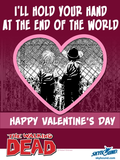 walking dead valentine's day 4