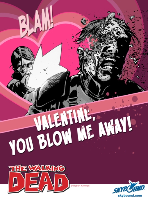 walking dead valentine's day 5
