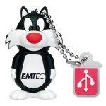 Emtec Electronics L101 Looney Tunes 4 GB USB 2.0 Flash Drive