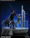 Star Wars- Luke vs Darth Vader Diorama