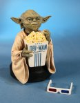 Star Wars- Yoda with 3D Glasses Mini Bust