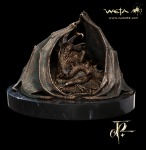 The Hobbit- Smaug The Golden Faux Bronze Statue